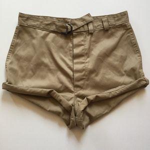 VINTAGE Super high waisted short shorts 28